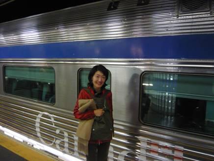 VIA鉄道にて